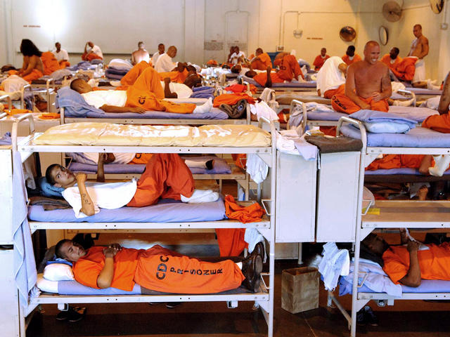 over crowding in our prison system